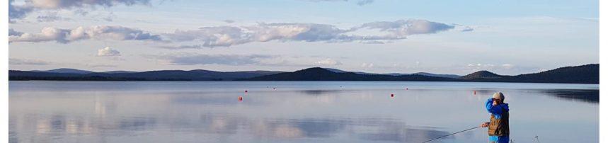 Muddusjärvi Vasatokan edustalla