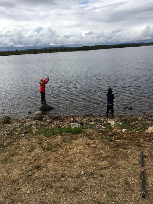 kalastusleiri
