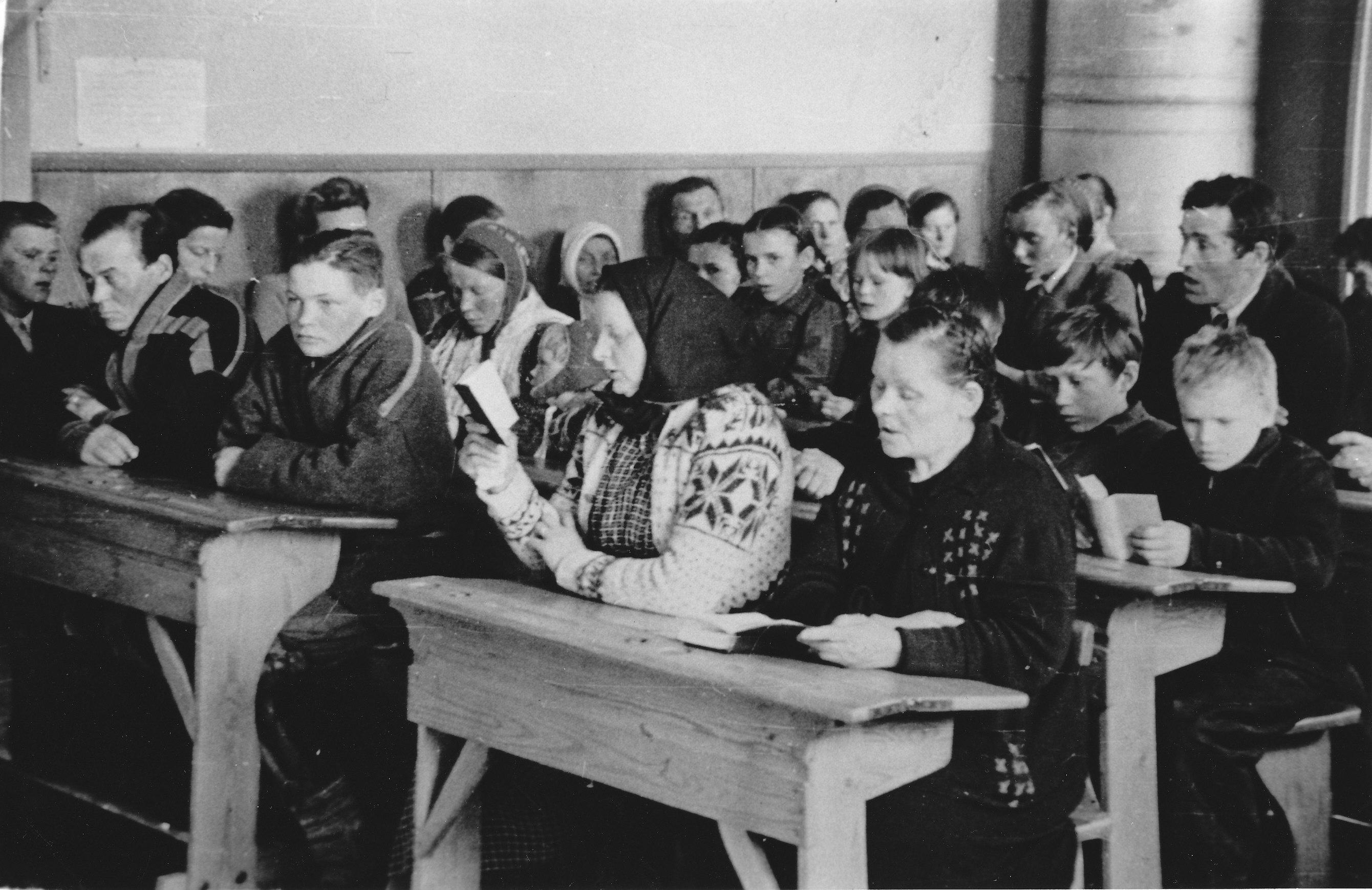 Kinkerit koululla