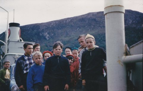 Norjan matka väri